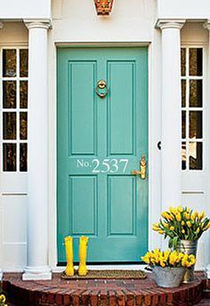 Custom House Numbers Front Door or Mailbox by ClassyClutterDesigns