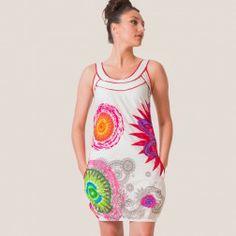 Vêtements ethniques grandes tailles, les vêtements de cette catégorie vont  jusqu au 48 ou 50 ou XXL Robe WANDA blanche e9409f48ca1b