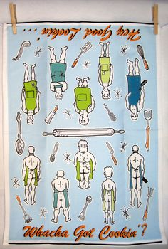 Hey, I found this really awesome Etsy listing at http://www.etsy.com/listing/76784430/naked-chef-tea-towel-funny-gift