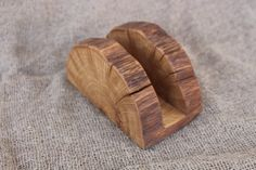 Wooden Napkin Holder Natural Branch Napkin Holder Rustic