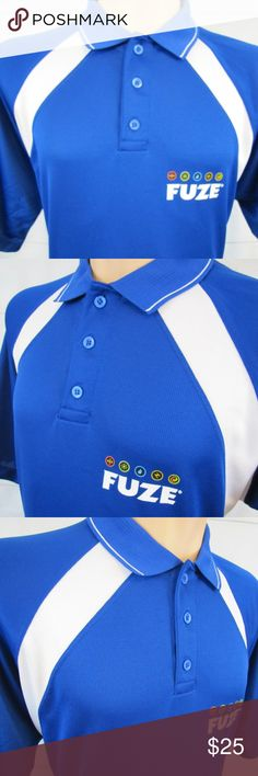 """Colorado Timberline FUZE Mens Sz XL Polo Shirt Inventory # A151  Brand:  Colorado Timberline  Condition: This item is Very Good Condition! There are NO Major Flaws with this item, and is Free and Clear Of any Noticeable Stains, Rips, Tears or Pulls of fabric.  Item Specifics: FUZE, Poly-Dri Polo/Rugby Shirt, Short Sleeve  Material: 100% Polyester  Color:  Blue w/White Wrap Trim – See Photos  Size: Men's XL  Pit to Pit (Across Chest):  25""""  Length (Top of Collar to Hem):  33.5"""" Colorado… Ranger 2018, Polo Rugby Shirt, Mens Xl, Fashion Tips, Fashion Design, Fashion Trends, Color Blue, Swimwear, Shirts"""