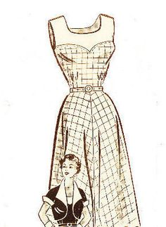 Anne Adams 4663 Vintage 1950s Mail Order Dress and Jacket Sewing Pattern Bust 36 by DRCRosePatterns on Etsy https://www.etsy.com/uk/listing/230678285/anne-adams-4663-vintage-1950s-mail-order