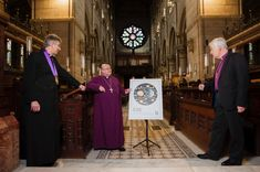 CoI News: Commemorative stamp features St Fin Barre's Cathedral window: An Post have launched a new stamp commemorating the 150th…