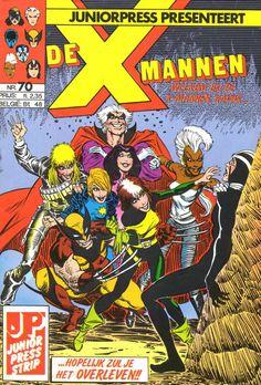 X-Mannen #70 De Plicht Roept