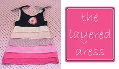 Layered Dress Tutorial - Peek-a-Boo Pattern Shop: The Blog