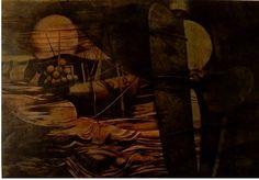 Přístav v Bretani Painting, Art, Art Background, Painting Art, Kunst, Paintings, Performing Arts, Painted Canvas, Drawings