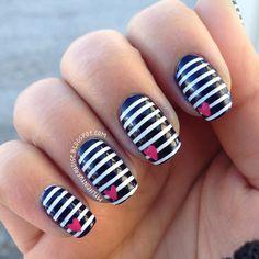 Valentines day nail ideas! <3