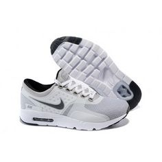 pretty nice cbfeb 5e7d0 Mens Nike Air Max Zero Qs Shoes White Light Gray Cheap Nike Air Max, Nike