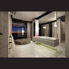 Luxury Bathrooms, Marble baths, marble floors, walk in showers.