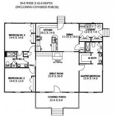 House design kitchen floor plans ideas for 2019 Barndominium Floor Plans, Basement Floor Plans, Farmhouse Floor Plans, Kitchen Floor Plans, Bedroom Floor Plans, Bathroom Flooring Options, Best Bathroom Flooring, Bedroom Flooring, Split Level House Plans