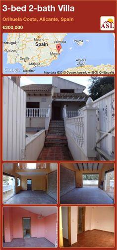 3-bed 2-bath Villa in Orihuela Costa, Alicante, Spain ►€200,000 #PropertyForSaleInSpain