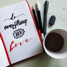 Day 10 #30daysofbiblelettering @30daysofbiblelettering . . 1 Korintus 16:14 (TB)  Lakukanlah segala pekerjaanmu dalam kasih! . . . #art #artworks #lettering #letteringco #handlettering #handmade #handtype #typography #typeface #showusyourtype #calligraphy #bftype #50words #sketch#goodtype #font #doodle #typespire #typeverything #practice #doodling #bibleverse