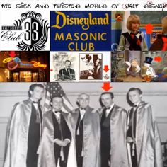 Walt Disney was a freemason-Freemasonry is the secret society that ties the elitists and illuminati together along with Israel. ..the Jesuits and Knights Templars...anyone involved in these secret societies are behind the NWO
