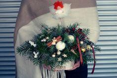 Flowers of Soul: Decorațiuni handmade pentru Crăciun Christmas Wreaths, Holiday Decor, Corona