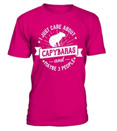 """# Capybaras T-Shirt - I Just Care About Capybaras! . Special Offer, not available in shops Comes in a variety of styles and colours Buy yours now before it is too late! Secured payment via Visa / Mastercard / Amex / PayPal How to place an order Choose the model from the drop-down menu Click on """"Buy it now"""" Choose the size and the quantity Add your delivery address and bank details And that's it! Tags: Funny Capybaras Shirt for Men, Women,"""