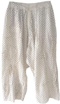 Magnolia Pearl: Freckle dot cotton Oliana Pants
