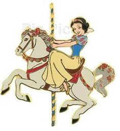 Princess Carousel Horse (Snow White)