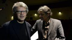 #eustonews Francesco dorazio e Giampaolo nuti prima del concerto