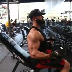 Fitness Goals, Fitness Tips, Fitness Motivation, Fit Board Workouts, Gym Workouts, Shoulder Workout Routine, Gym Workout Videos, Weight Training Workouts, Biceps Workout