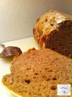 Recette du Cake moelleux à la crème de marrons Alors je ne résiste plus !