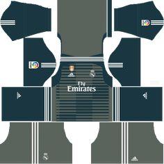 Real Madrid Goalkeeper Third Kit 2018-19 - Dream League Soccer Kits 9fb7570fa