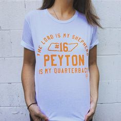 the lord is my shepherd peyton is my quarterback