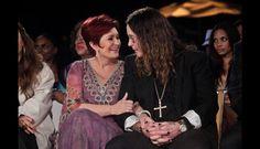 Sharon y Ozzy-Osbourne, cantante de Black Sabbath