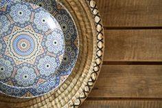 Assiette 1500 1000 maroc c t bleu pinterest recherche et - Maison porcelaine maroc ...