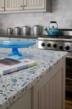 Love this countertop -- it's recycled glass!