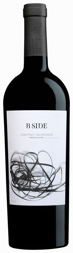 Label/ B Side via stilovino Cabernet Savignon / wine