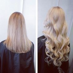 Extensions before and after http://instagram.com/hairbeautynw Hair&Beauty / Nadine W. ❥ ✂️Haarextensions-specialist &'Beautician /  076 379 10 93- Zürich Volketswil / hairbeautynw@hotmail.com