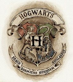 Hogwarts amblem