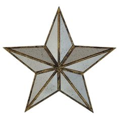 Handcrafted Rustic Metal Grey Wall Decor Stars Set Of 3 Metals And Bedrooms