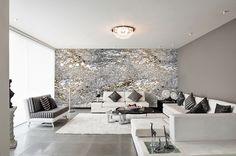 Wandfarbe mit Metalleffekt – Funkeln und Glitzern in Ihrem Zuhause ...