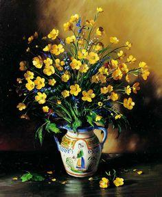 Painting by Russian artist Serguei Toutounov..