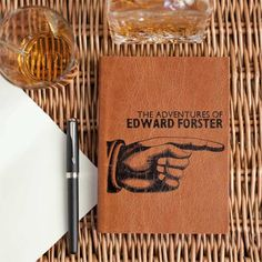 If the man in your life is fond of the finer things in life, he will definitely appreciate this leather journal. It's the perfect men's accessory where your fiancée can keep his own to-do list, notes and anything else he wants written down. Wedding stationery isn't just for brides you know!