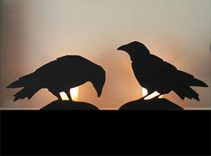 Halloween Templates - Rat, Bat, Crow, and Black Cat Patterns.