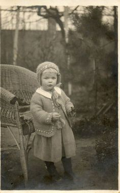 Black and White Photo Vintage German Children Girl | eBay