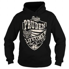 Awesome Tee Last Name, Surname Tshirts - Team PRUDEN Lifetime Member Eagle T shirts