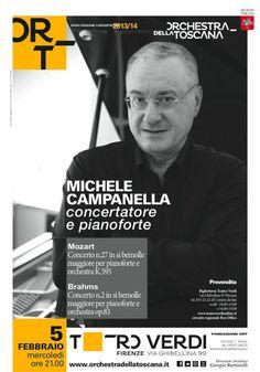Concerto Campanella | Stagione concertistica 2013-14 | Ort Graphics Kidstudio | Poster design Mattia Vegni | Foto Victor Deleo