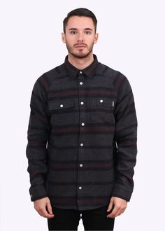Carhartt LS Blanket Shirt - Dark Navy