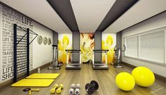 36 of the Best Home Gym Set Up Ideas You'll Ever Get - Fitnessraum -