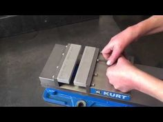 SmartJaws repeatable milling soft jaws - YouTube