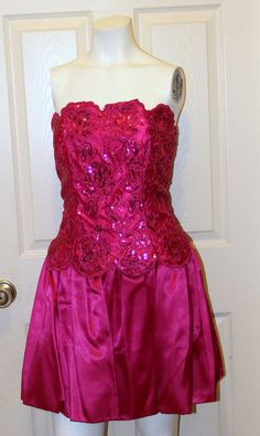 Actually NOT from the 80's this was the dress I bought for prom   1980s Jessica McClintock Gunne Sax  Hot by AntiqueologyToday