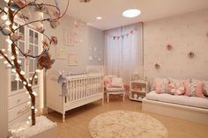 chic, nursery, and awesome image