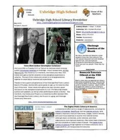 May Newsletter 2013