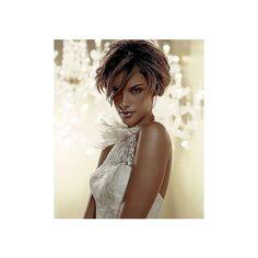 Pronovias - Pronovias   Alessandra Ambrosio ❤ liked on Polyvore featuring models, alessandra ambrosio and pictures