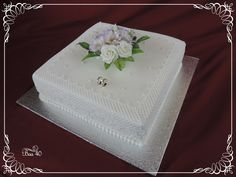 Floral Cake, Butter Dish, Cake Toppers, Wedding Cakes, Dishes, Tableware, Wedding Gown Cakes, Dinnerware, Tablewares