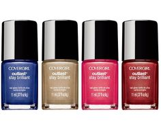Cover Girl Outlast Stay Brilliant Nail Polish. Starting at $1