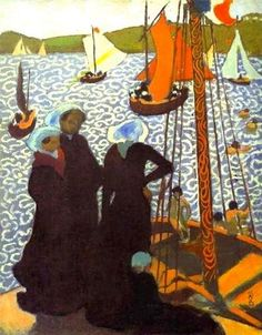 Maurice Denis (French, 1870–1943): Regatta at Perros-Guirec,1892